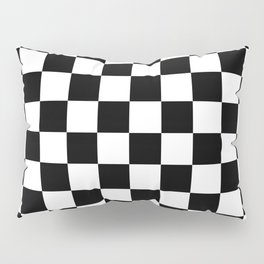 Checkered (Black & White Pattern) Pillow Sham