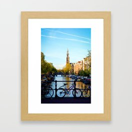 Amsterdam Living Framed Art Print