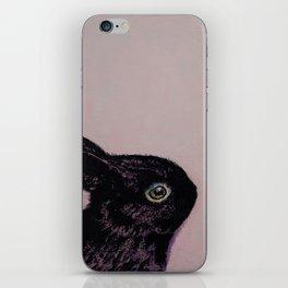 Black Bunny iPhone Skin