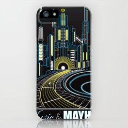 Music and Mayhem iPhone Case