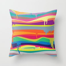 The Melting Throw Pillow