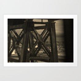 Bridge Support Art Print