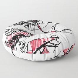 Tear_ line Floor Pillow