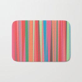 happy stripes Bath Mat
