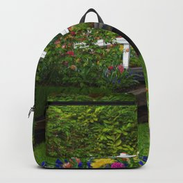 Flowered Bridge Backpack