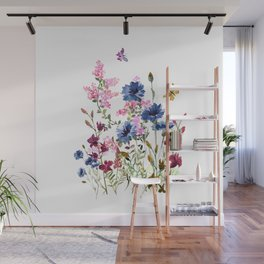 Wildflowers IV Wall Mural