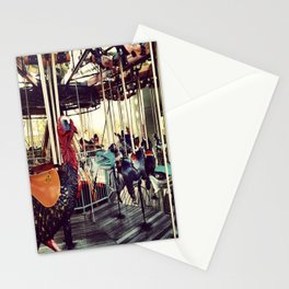 Oddball Merry-Go-Round Stationery Cards
