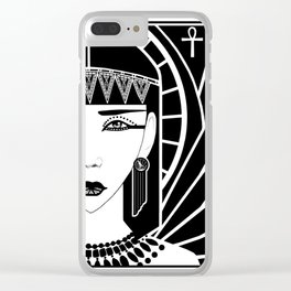 Cleopatra Clear iPhone Case
