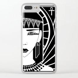 Cleopatra Clear iPhone Case