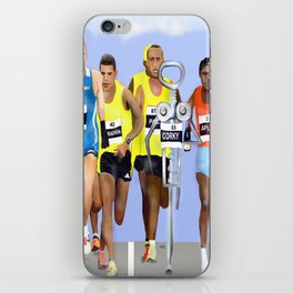 Corky in a Marathon iPhone Skin