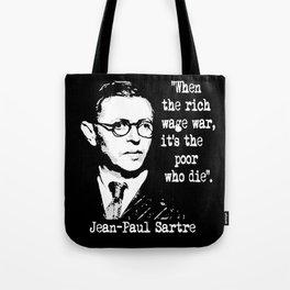 J P Sartre Tote Bag