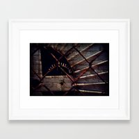 industrial Framed Art Prints featuring Industrial by KunstFabrik_StaticMovement Manu Jobst