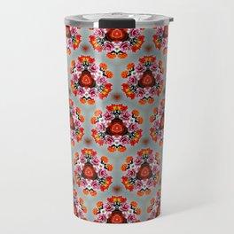Rose bouquet pattern Travel Mug