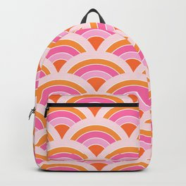Rainbow connection - tangerine Backpack