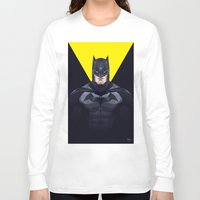 bat man Long Sleeve T-shirts featuring Bat man by Muito