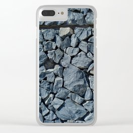 Stonewall Clear iPhone Case