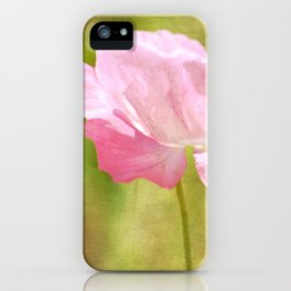 Pink Iceland Poppy Flower iPhone Case