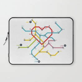 Home Where The Heart Is Laptop Sleeve