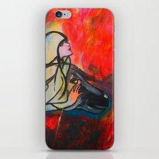 Chasing The Rain iPhone & iPod Skin