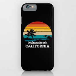 Lechuza Beach CALIFORNIA iPhone Case