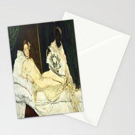 Edouard Manet's Olympia Stationery Cards