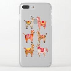 Alpacas Clear iPhone Case