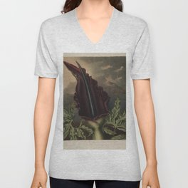 The Dragon Arum Temple of Flora Unisex V-Neck