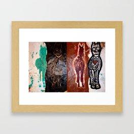 The Care Rot Eaters Framed Art Print