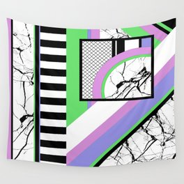 AMPS Deux - Abstract, Marble, Pastel, Stripes Wall Tapestry