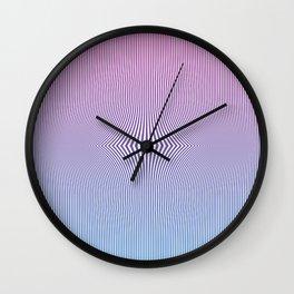 bending reality Wall Clock