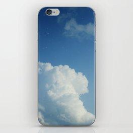 Cumulonimbus Clouds and Stars iPhone Skin