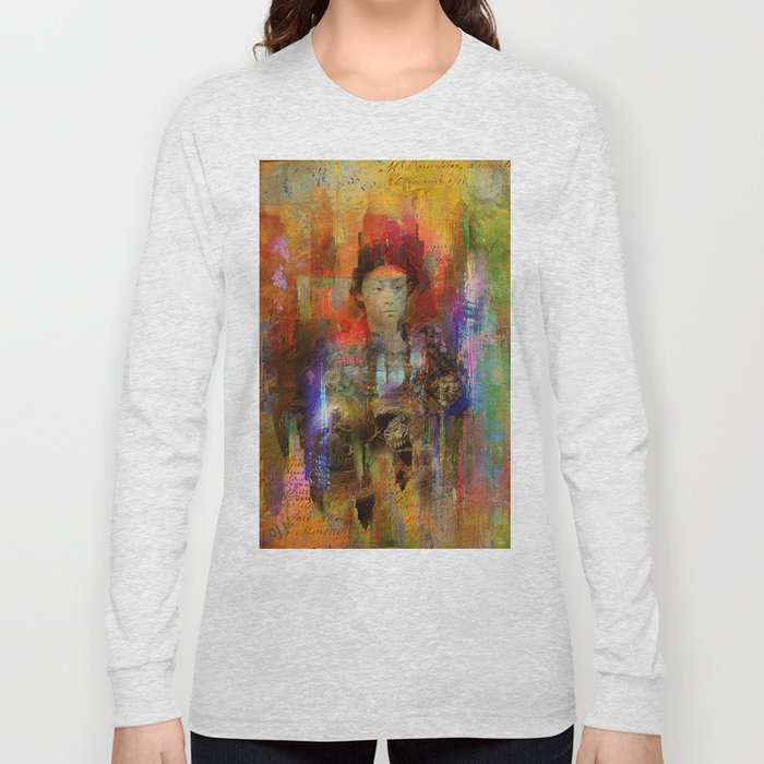 Woman samurai Long Sleeve T-shirt