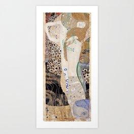 Gustav Klimt -  Water Serpents Art Print
