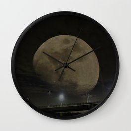 Goddess of the Night Sky Wall Clock