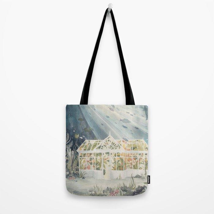 Underwater Greenhouse Tote Bag