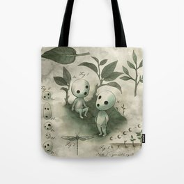 Natural Histories - Forest Spirit studies Tote Bag