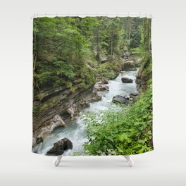 Breitachklamm #1 Shower Curtain