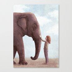 One Amazing Elephant - Cover Art Canvas Print