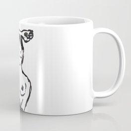 Naked cute girl Coffee Mug