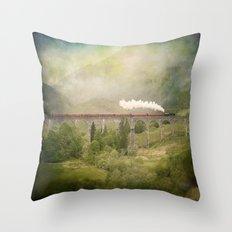 Glenfinnan Viaduct Throw Pillow