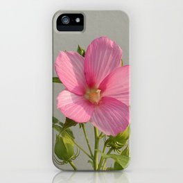 PINK MARSH MALLOW iPhone Case