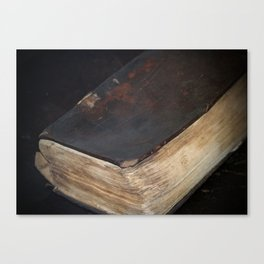 Pages From The Past Canvas Print