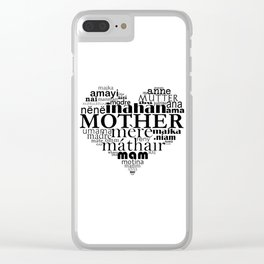 Mother (multilingual) Clear iPhone Case