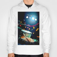 drums Hoodies featuring drums by petervirth photography