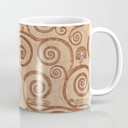 Gustav Klimt - Die Erwartung Coffee Mug