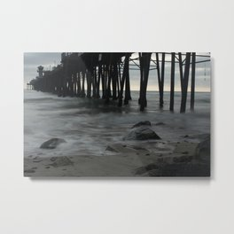 Mystic Pier Metal Print