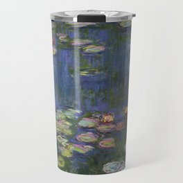 Water Lilies - Claude Monet Travel Mug