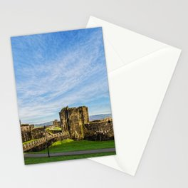 Caerphill Castle Panorama Stationery Cards