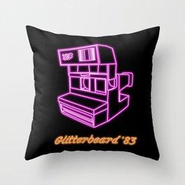 Glitterpix 83 Throw Pillow