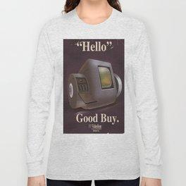 Vintage Videofone ad ( Total Recall 1990 fan art) Long Sleeve T-shirt